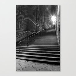 Too Many Steps Canvas Print