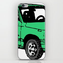 Retro 80s Truck / SUV iPhone Skin