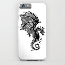 Sea Wyvern iPhone Case