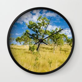 Savannah landscape Wall Clock