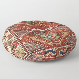 Bergama West Anatolian Village Rug Print Floor Pillow