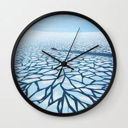 BROKEN BALANCE Wall Clock