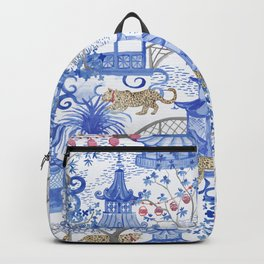 Party Leopards in the Pagoda Forest Backpack