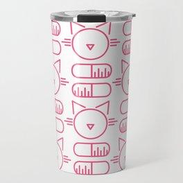cats & capsules  Travel Mug