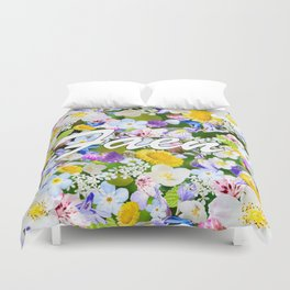 Flower Mess - Faen Duvet Cover