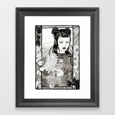 the frog princess Framed Art Print