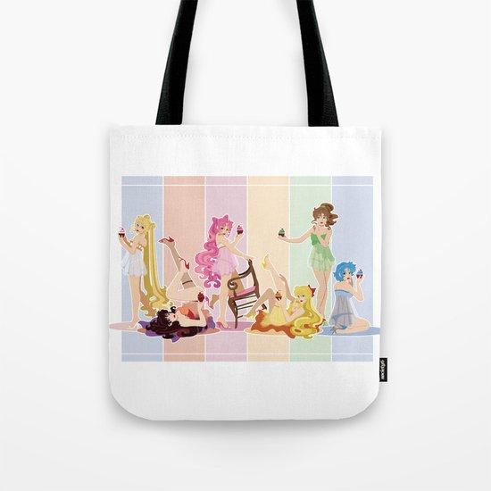Sailor Moon Pinup - Cupcakes Tote Bag