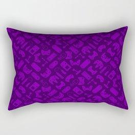 Control Your Game - Tradewinds Purple Rectangular Pillow