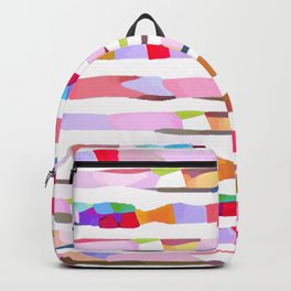Waves of Noise ~ Pink Backpack