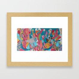 Bedfellows Framed Art Print