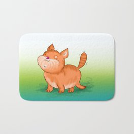 Happy Cat Bath Mat