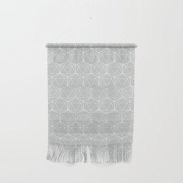 Icosahedron Soft Grey Wall Hanging