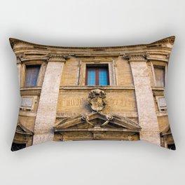 Roman Facade of Italy Rectangular Pillow