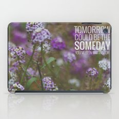 someday. iPad Case