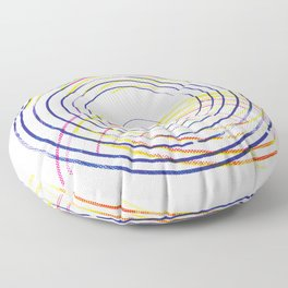 Concentric Floor Pillow