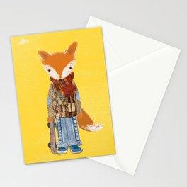 Fox Boy Stationery Cards