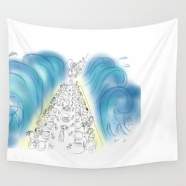 Passover Seder (without text) Wall Tapestry