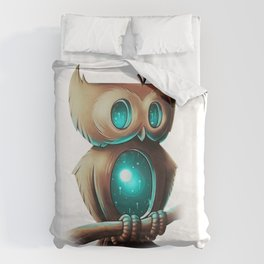 Night Owl Duvet Cover