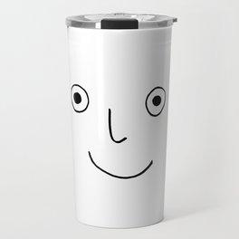 Happy Face Travel Mug