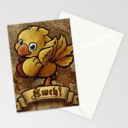 Chocobo Kwe ! Stationery Cards