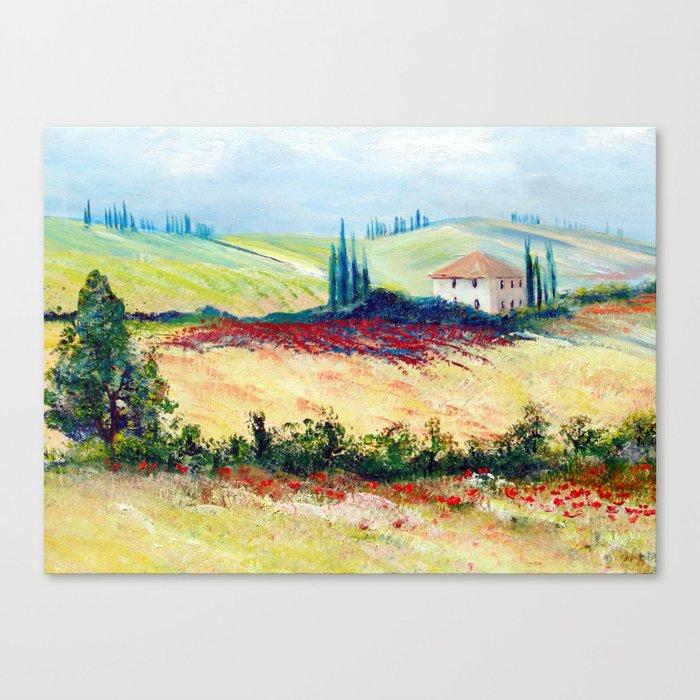 Italy II Canvas Print