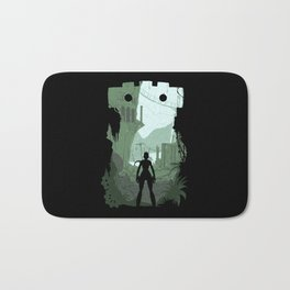 Lara Croft Bath Mat