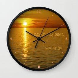 Swedish Islands Dream Wall Clock