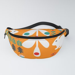 Sweet Christmas bunnies Fanny Pack