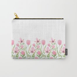 Blush pink blossom Carry-All Pouch