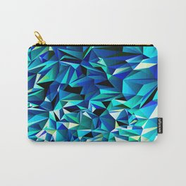 Green & Navy No. 1 Carry-All Pouch