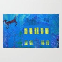 Fox Dream Flight Rug