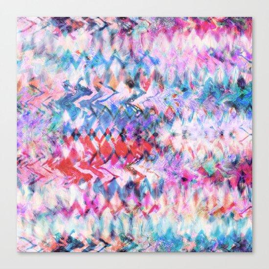 Tie Dye Soda Canvas Print