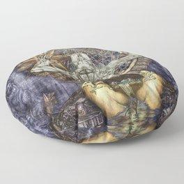 The Crux Floor Pillow