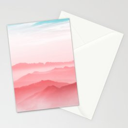 Mountains Layers Stationery Cards