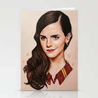 gryffindor Stationery Cards featuring Queen of Gryffindor by The Art Of Dreams