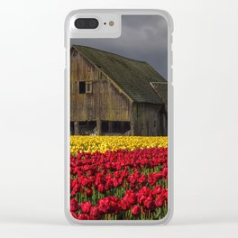 Everlasting Blooms Clear iPhone Case
