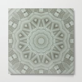 Parquetry Metal Print