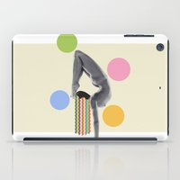 yoga iPad Cases featuring Yoga by Lerson