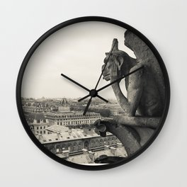 Gargoyle of Notre Dame Wall Clock