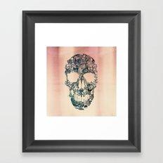 Skull Vintage Framed Art Print