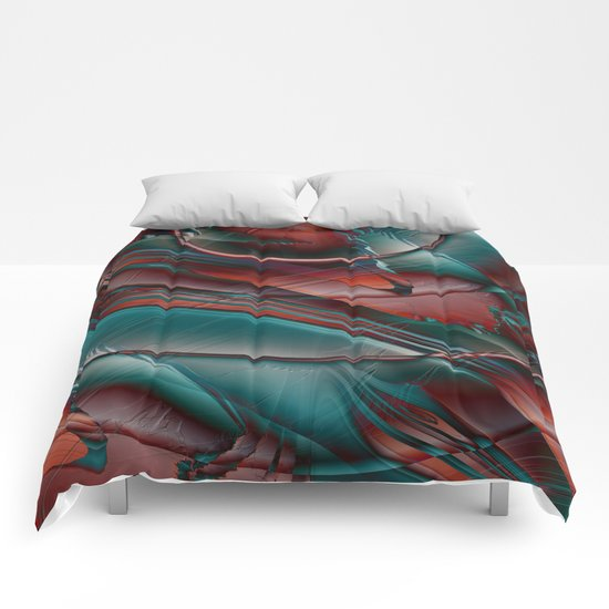 Multicolored abstract 2016 / 002 Comforters