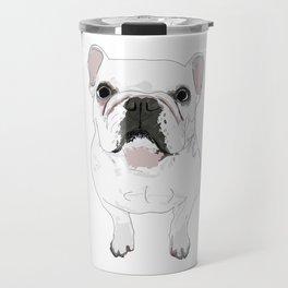 French Bulldog Print Travel Mug