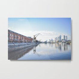 Puerto Madero, Buenos Aires, Argentina. Metal Print