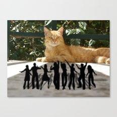 Todor And The Little People Canvas Print