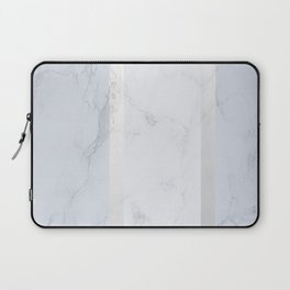 Marble Silver Laptop Sleeve