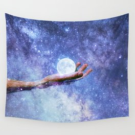 Galactic Pool Wall Tapestry