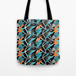 look left Tote Bag