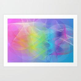 Power and positive energy, 24 Art Print
