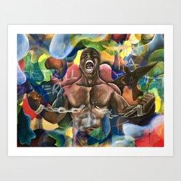Black Moses Art Print