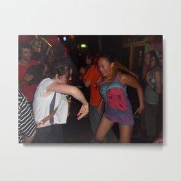 Sydney Nightlife...Danceing girls Metal Print